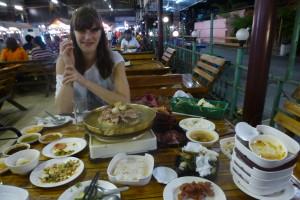 Grillen auf Thai